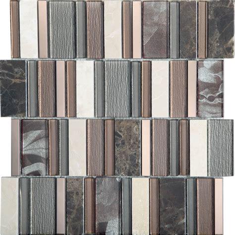 mosaic stripe cinnamon