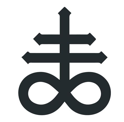 Symbol Meaning by The Leviathan Cross Satan S Cross Symbol And Its Meaning