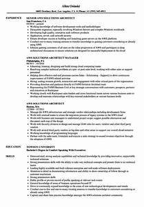 aws solutions architect resume samples velvet jobs With azure iaas resume