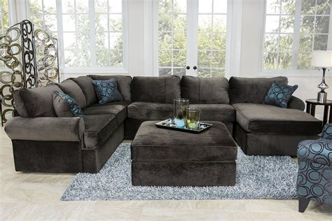 sectional living room sets mor furniture for less the janley slate living room