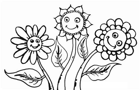 belajar mewarnai sketsa bunga matahari terindah koleksi