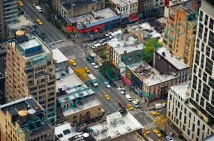 New York City Streets From Above