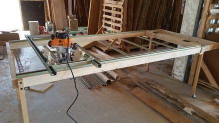 router sled table  flatten slabs  ideal workshop