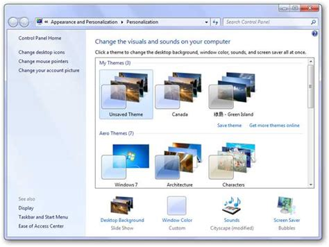 Starter Theme How To Personalize Windows 7 Starter