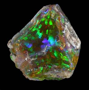 No. 44831 Mineral: Opal (var. Crystal Fire Opal) Locality ...