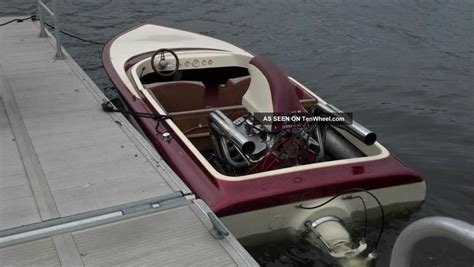 Fast Boat Horse by 1976 Sanger Bubbledeck 800 Horse Power Go Fast Boat