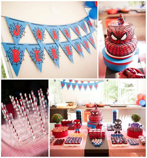Kara's Party Ideas Spiderman Party Planning Ideas Supplies