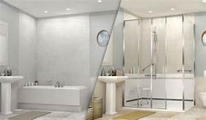 Baignoire Douche Italienne : comment remplacer une baignoire par une douche id al douche ~ Melissatoandfro.com Idées de Décoration