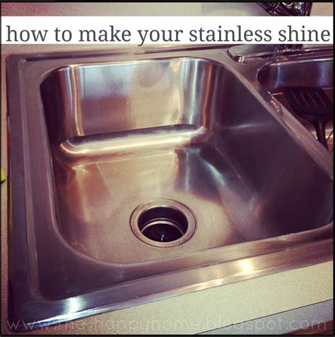How To Make Your Stainless Sink Shine Our Home Sweet Home
