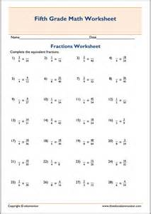 fractions 5th grade free printable worksheets for 5th grade