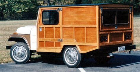 cj jeep custom built woody