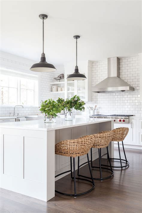 gorgeous pendant lights   island bench  house
