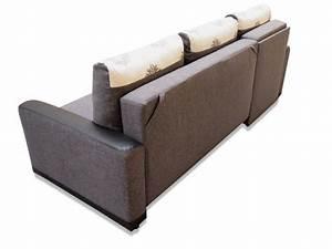 Couchbezug Für Eckcouch : ecksofa rico mit schlaffunktion federkern und zwei ~ Watch28wear.com Haus und Dekorationen