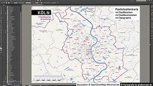 Köln Plz Karte : k ln stadtplan postleitzahlen plz 5 topographie stadtbezirke stadtteile vektorkarte ~ Eleganceandgraceweddings.com Haus und Dekorationen