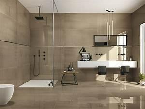 idee carrelage salle de bain d39inspiration design With salle de bain design avec salle de séjour décoration