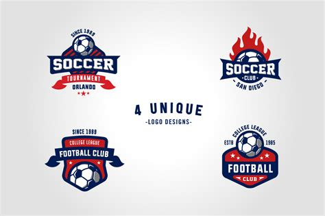 Sport Product Logo by Sports Logos Soccer Football Edition Logo Templates On