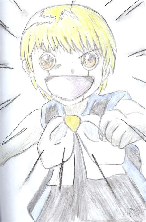cool anime zatch bell zatch bell by macswake on deviantart