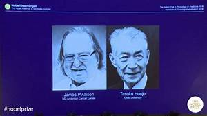 Groundbreaking Cancer Research wins the 2018 Nobel Prize ...