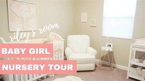 Baby Girl Nursery Tour  Riley's Room Youtube