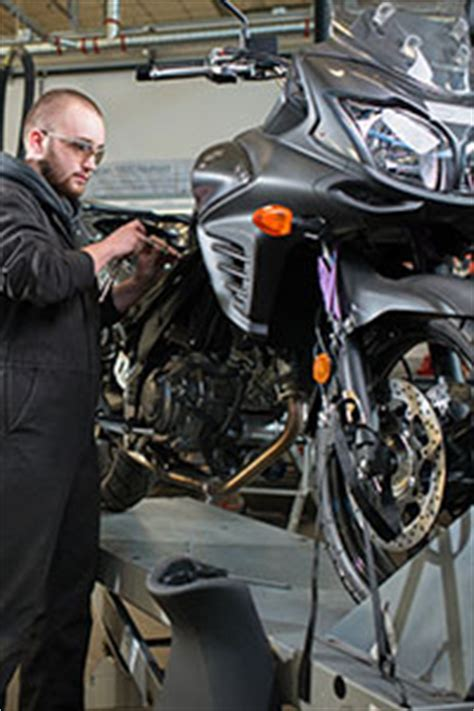 bcit motorcycle  power equipment technician