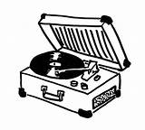 Record Player Clipart Drawing Transparent Background Draw Phonograph Cliparts Clip Turntablism Easy Clipartmag Library Hiclipart sketch template