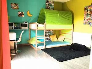 une chambre super heros pour petit garcon contemporary With deco chambre petit garcon