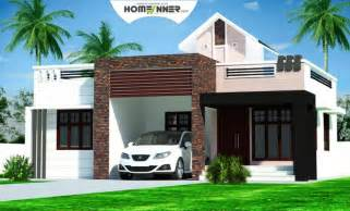 style house plans rectangular kerala home plans design low cost 976 sq ft 2bhk