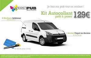 Pret Caf Pour Voiture : kit autocollant pr t poser pour v hicule signpub ~ Gottalentnigeria.com Avis de Voitures