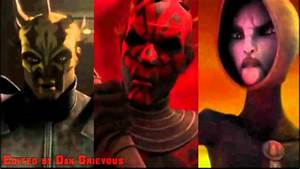 Darth Maul and Asajj Ventress ft. Savage Opress - Our Time ...