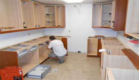 How To Install Base Cabinets by Installation Builder Supply Outlet Kitchen Cabinets How