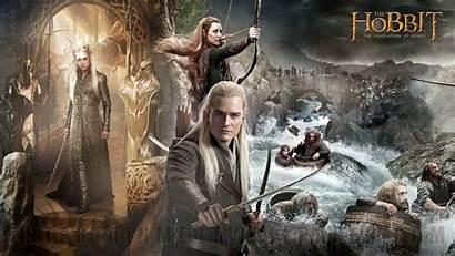 Hobbit Smaug Desolation Wallpapers Gandalf 1920 Grey