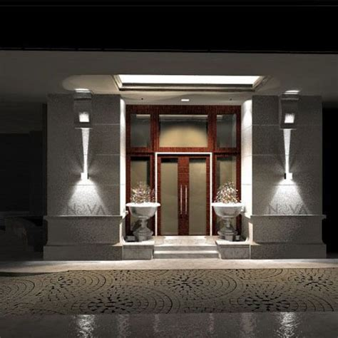 cree outdoor wall light led up down wall sconces