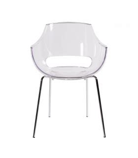 chaise design polycarbonate transparent plastic designer chairs