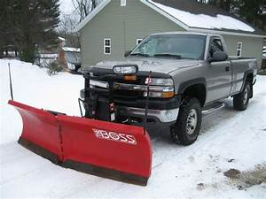 Buy Used 2002 Chevy 2500hd 4x4 81 Allison Boss V Plow In Medina Ohio United States