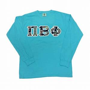 Comfort colors greek letter shirts fraternity letters for Sorority sewn on letters