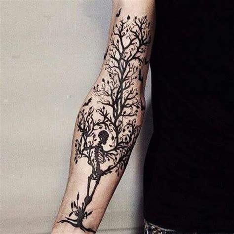 Skeleton Tree Tattoo Inspirations