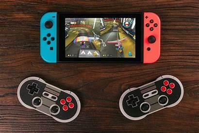 Switch Controller 8bitdo Nintendo Pro Nes Controllers
