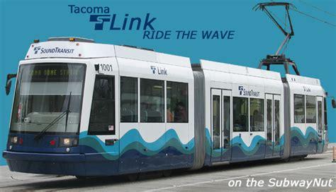 tacoma light rail the sound transit tacoma link light rail station list the