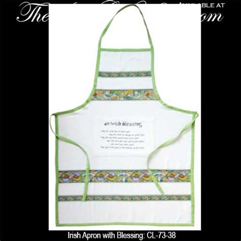 Kitchen Aprons Ireland by Apron With Blessing