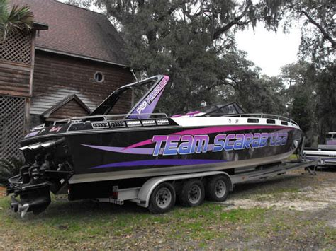 Boat Trailers For Sale South Carolina by 38 Scarab Boat And Trailer For Sale From Georgetown South