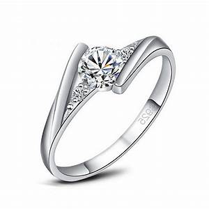 wholesale price fashionable accessories white gold cz With wedding rings wholesale