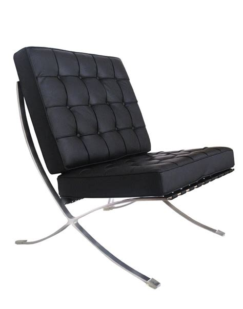 Classic and iconic barcelona chair that was originally designed by mies van der rohe in 1929. Replica Barcelona Chair - Black Zuca
