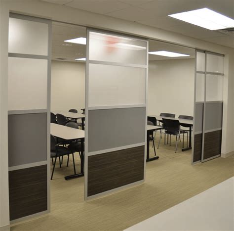 Glide Sliding Room Divider Loftwall
