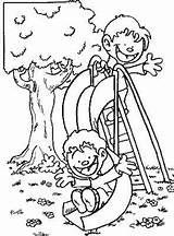 Coloring Slide Boys Google El Patio Colorear Para Niños Dibujos Disney Desde Guardado sketch template