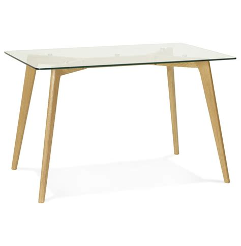 bureau table verre bureau droit bugy en verre table design 120x80 cm