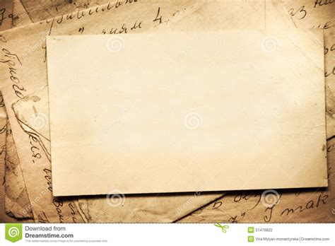 background for letters background with old papers and letters stock photo image