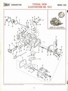 Holley 1931 Exploded Diagrams