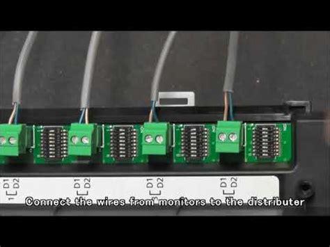 How Install Bus Wiring Panasonic Video Intercom