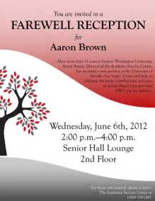 June 6: Farewell Reception for Aaron Brown - Eastern 24/7