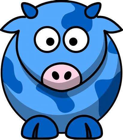 Cow Clip Clker Clipart Vector Shared